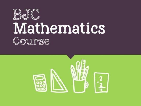BJC-Maths-Course