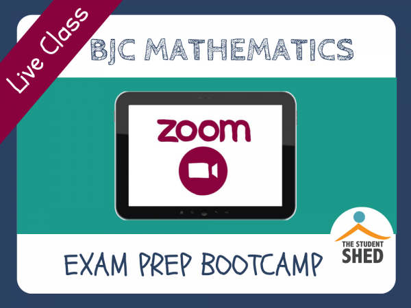 BJC Mathematics Exam Prep Bootcamp