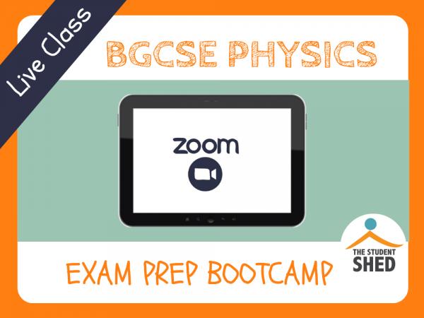 BGCSE Physics Exam Prep Bootcamp