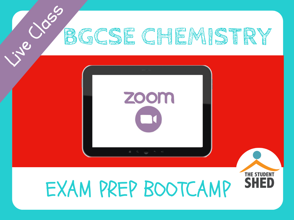 BGCSE Chemistry Exam Prep Bootcamp