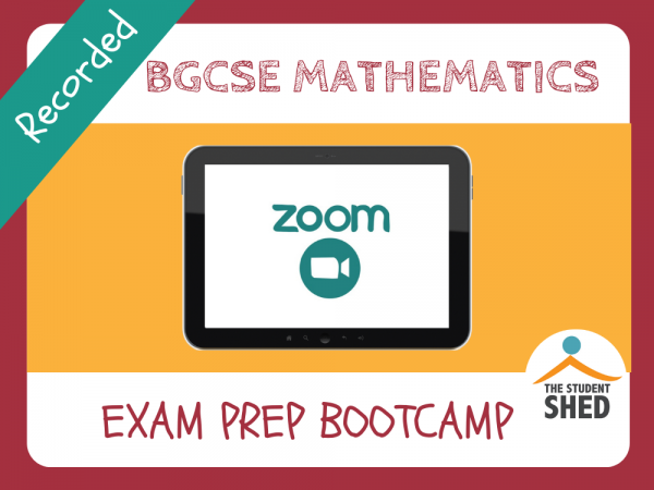BGCSE Maths Exam Prep Bootcamp