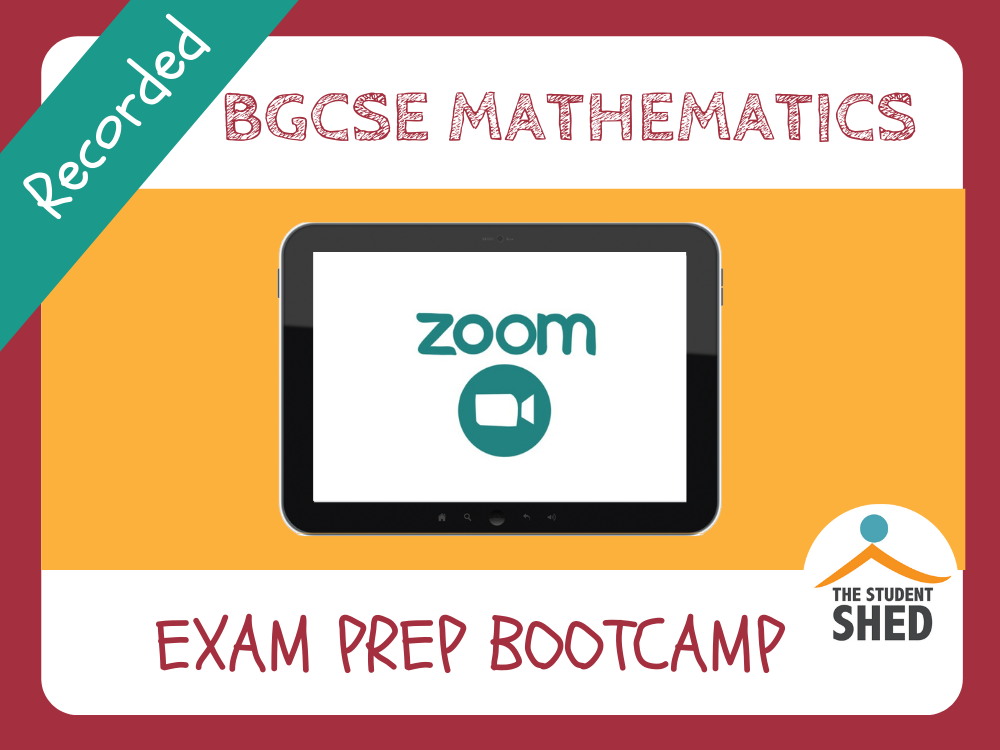 BGCSE Maths Exam Prep Bootcamp