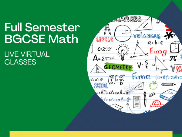 BGCSE Math Live Virtual Classes