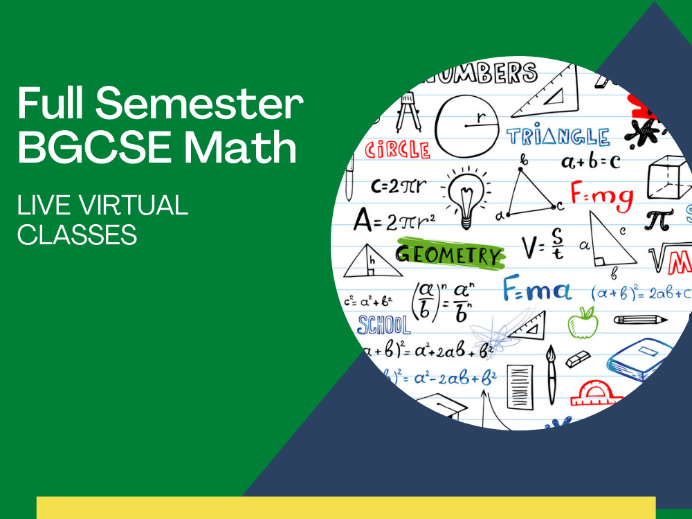 BGCSE Math Live Virtual Classes
