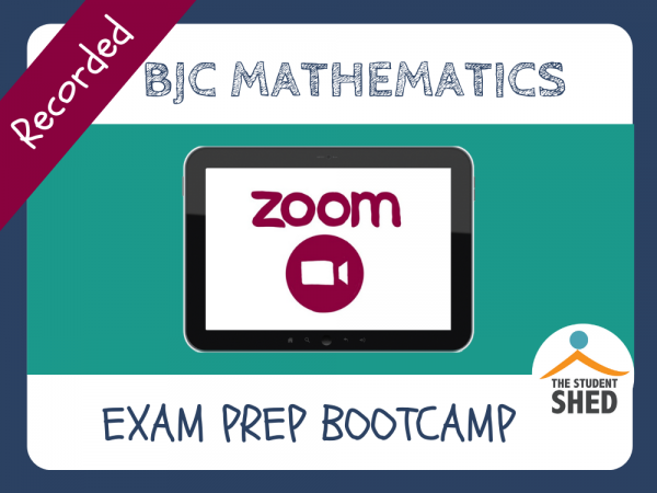 BJC Math Exam Prep Bootcamp