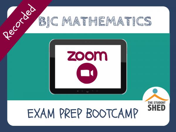 BJC Math Exam Prep Bootcamp