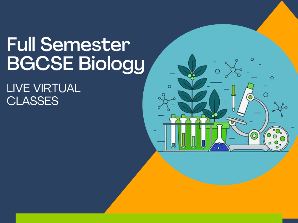 full semester bgcse biology classes